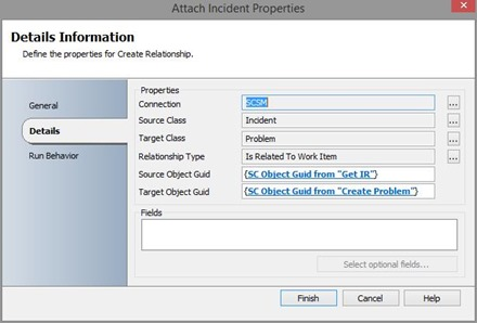 create relationship incident problem