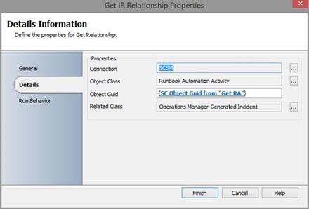 get relationship SCSM IP